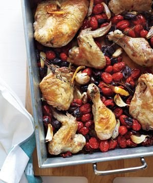 roasted-chicken-tomatoes