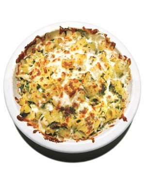 cheesy-baked-pasta-spinach