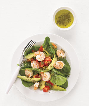 shrimp-avocado-salad