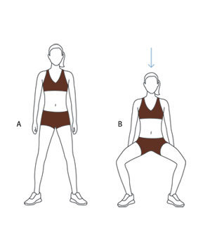Move 1 Wide Stance Squat