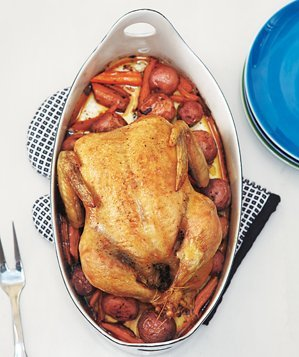 roasted-chicken-vegetables