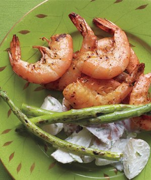 grilledshrimp-lemony-potato-salad