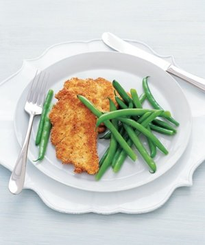 chicken-cutlets-green-beans