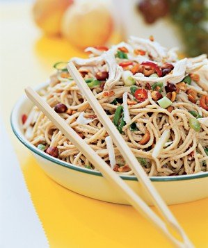 peanut-noodles-chicken-pears