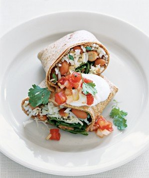 red-beans-spinach-burritos