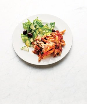 baked-penne-spinach-sun-dried-tomatoes