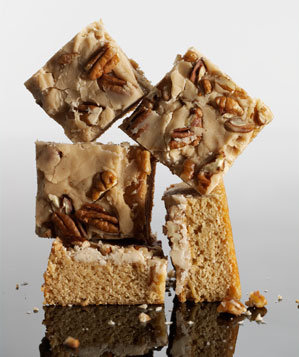 praline-blondies
