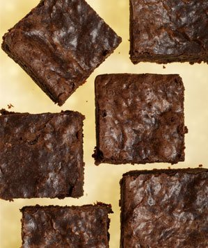 fudge-chocolate-brownies