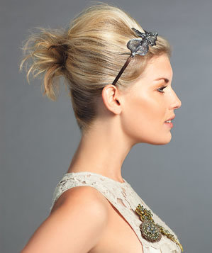 for mediumlength hair  holiday hair accessories  real