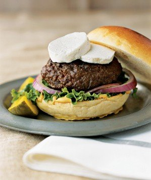 burger-goat-cheese