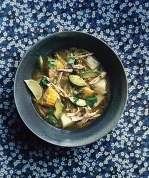 Colombian Chicken and Potato Soup Recipe | Real Simple