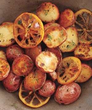 roasted-poatoes-lemon