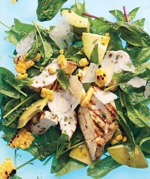 chicken-corn-avocado-salad