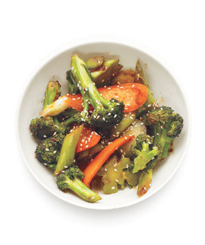 Broccoli and Pepper Stir Fry Recipe