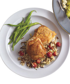 chicken-wild-rice-grapes