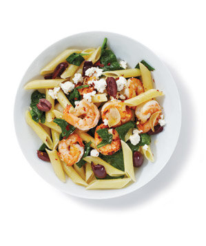 pasta-shrimp-spinach