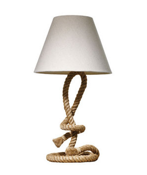 Anthropologie lamp 5 nautical decorating ideas real simple for Anchor decoration runescape