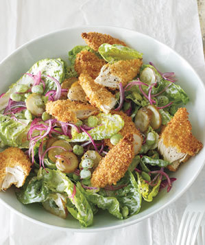 chicken-salad-pickles-lima-beans