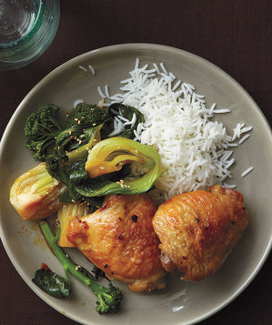 ginger-chicken-bok-choy