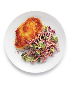 crispy-chicken-broccoli-coleslaw