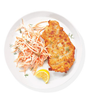 chicken-fried-steak-carrot-slaw