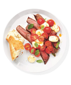 steak-mozzarella-tomatoes