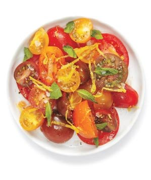 tomato-salad-ginger-mint