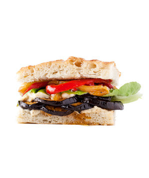 eggplant-peppers-beans-sandwich