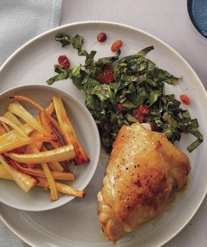 chicken-thighs-parsnips-collards