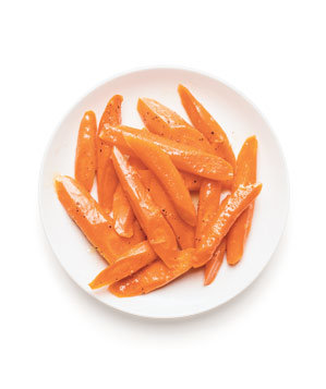 Gingery Glazed Carrots Recipe | Real Simple