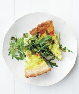 pea-scallion-quiche