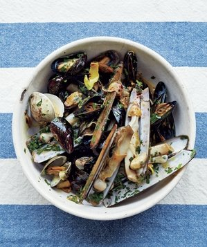 mussels-clams-chili-oil