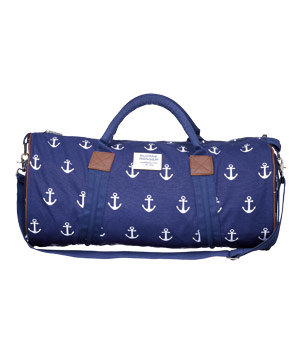 sloane ranger anchor canvas duffel bag  unique graduation