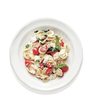 Creamy Orecchiette with Tomatoes and Chili Oil Recipe Real Simple