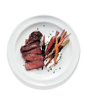steaks-carrots-goat-cheese