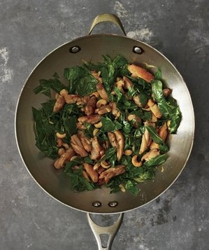 cashew-chicken-greens
