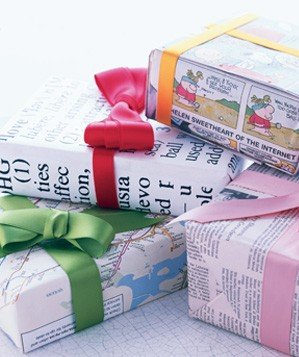 dictionary-entry-used-as-gift-wrapping
