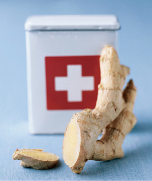 ginger-root-used-to-soothe-burns