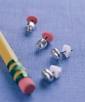pencil-eraser-used-to-secure-earring