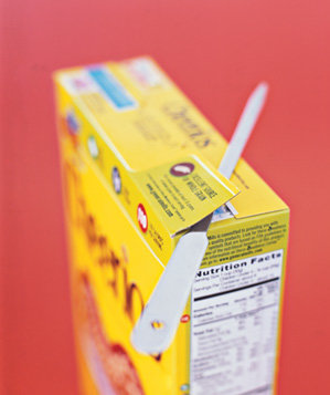 letter-opener-used-to-open-cereal-box