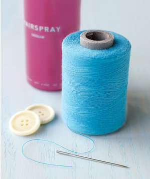 hair-spray-used-to-help-thread-a-needle