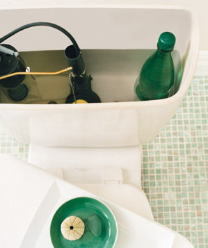 Soda Bottle As Water Saver New Uses In Your Bathroom