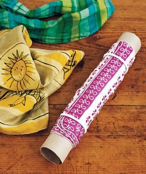 paper-towel-tube-used-for-scarves