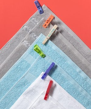 clothespin-as-towel-labels