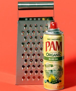 cooking-spray-as-grater-helper
