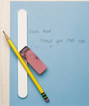emery-board-used-to-revitalise-an-eraser