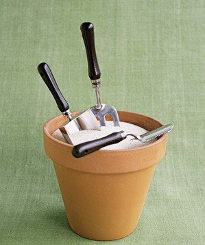 flower-pot-used-to-hold-garden-tools