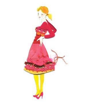 0705clipart-lady