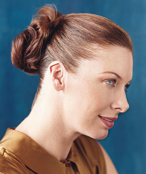 Cool Create A Double Bun 5 Party Worthy Updos Real Simple Hairstyles For Women Draintrainus