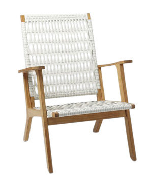Catskill Wood Wicker Chair The Best Outdoor Chairs Real Simple